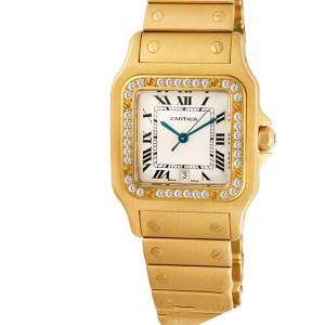 Cartier Santos wm3001C5 18k 29mm Quartz watch