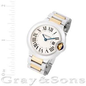 Cartier Ballon Bleu W69007Z3 18k & steel 29mm Quartz watch