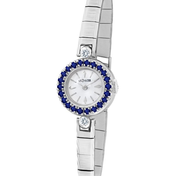LeCoultre Cocktail 14k white gold 17.5mm Manual watch
