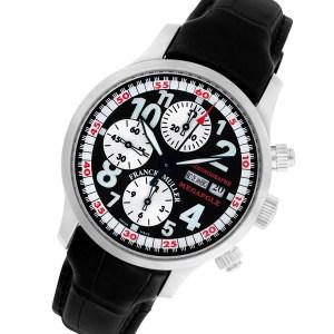 Franck Muller Transamerica stainless steel 40mm auto watch