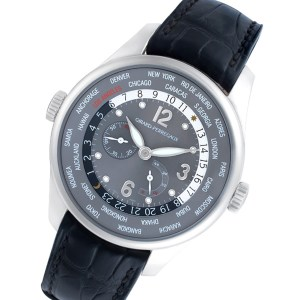 Girard Perregaux World Time 49851 stainless steel 41mm auto watch