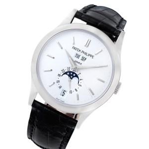 Patek Philippe Annual Calendar 5396-G 18k white gold 39mm auto watch