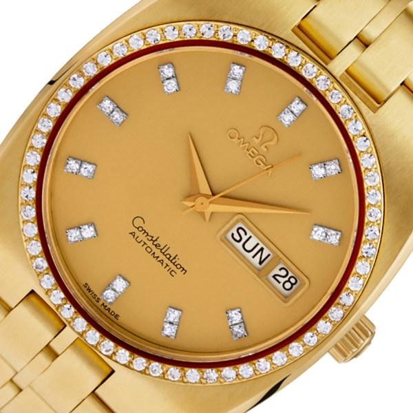 Omega Constellation 168.0054 18k 36mm auto watch