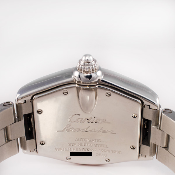 Cartier Roadster W62002V3 stainless steel 36mm auto watch