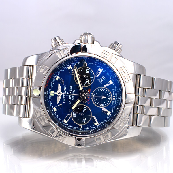 Breitling Chronometer AB0110 stainless steel 44mm auto watch