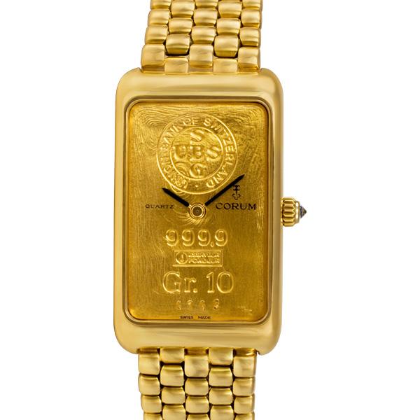 Corum 10 Gram 42400.56 18k 21mm Quartz watch