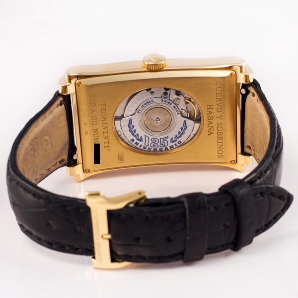 Cuervo Y Sobrinos Habana A1012 18k 30mm auto watch