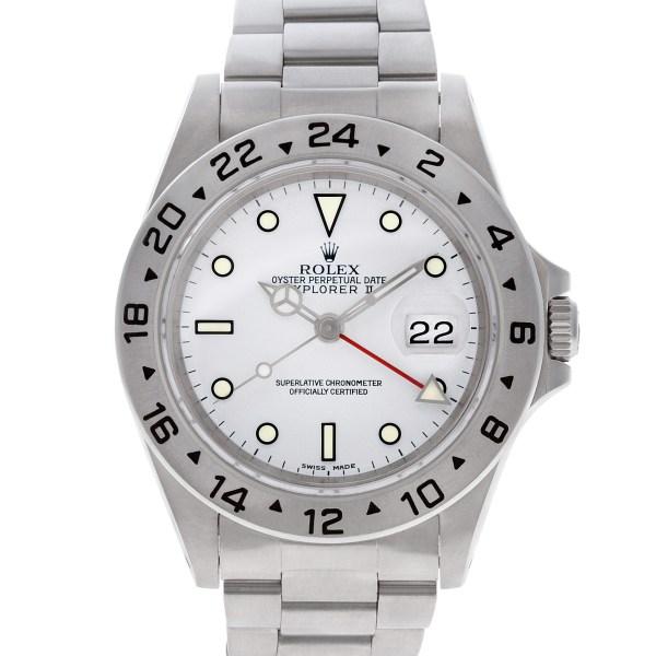Rolex Explorer II 16570 stainless steel 39mm auto watch