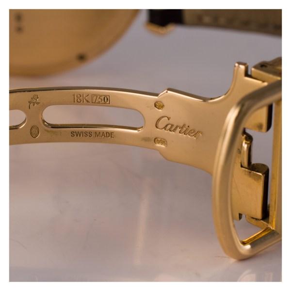 Cartier Pasha 42mm W3019051 18k rose gold 42mm auto watch