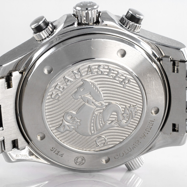 Omega Seamaster Co-Axial stainless steel 44mm auto watch