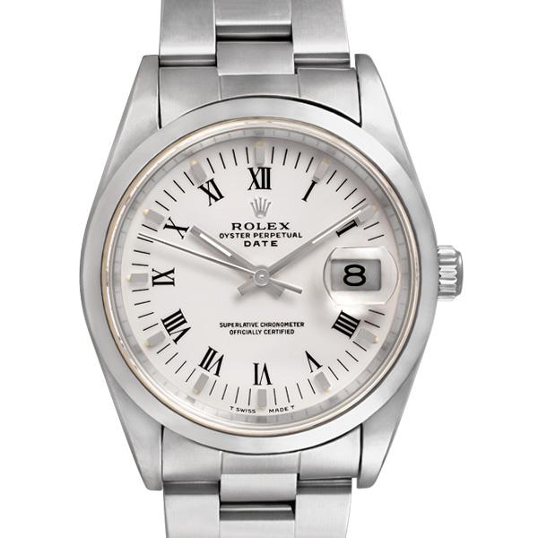 Rolex Date 15200 stainless steel 34mm auto watch