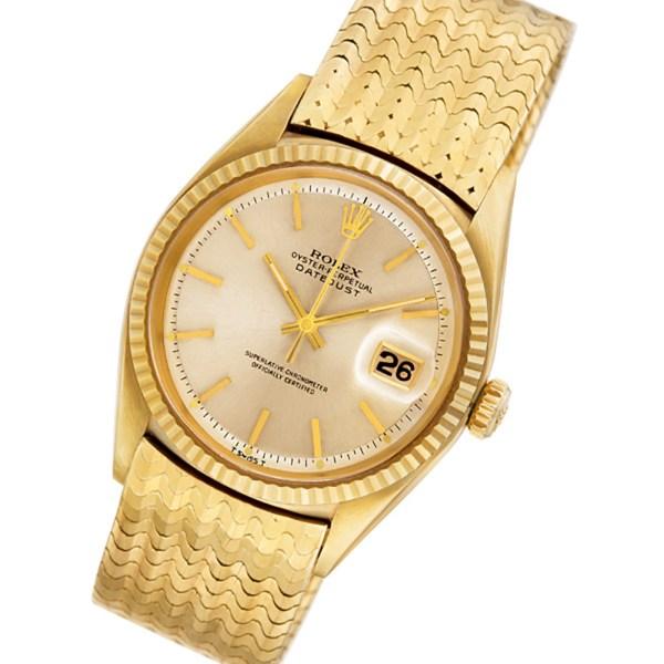 Rolex Datejust 1601 14k 36mm auto watch