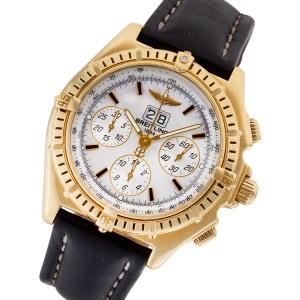 Breitling Crosswind k44355 18k 44mm auto watch