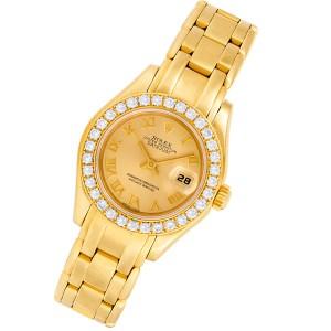 Rolex Masterpiece 69318 18k 29mm auto watch
