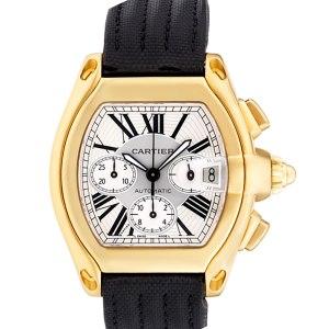 Cartier Roadster W62021Y3 18k 43mm auto watch