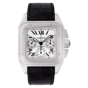 Cartier Santos 100 W20090X8 stainless steel 43mm auto watch