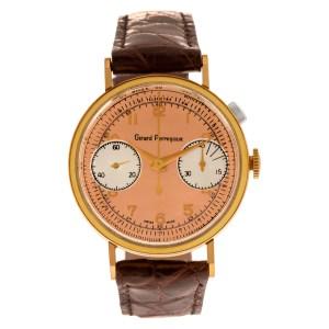 Girard Perregaux Chronograph Vintage gold fill 35mm Manual watch