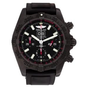 Breitling Blackbird m44359 stainless steel 42mm auto watch