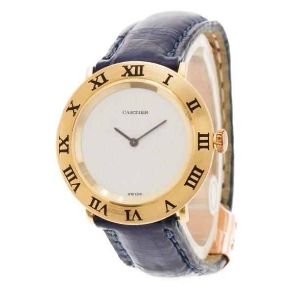 Piaget Cartier 9118 18k yellow gold 28mm Manual watch