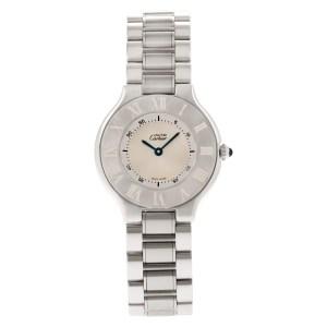 Cartier Must de 1330 stainless steel 31mm Quartz watch