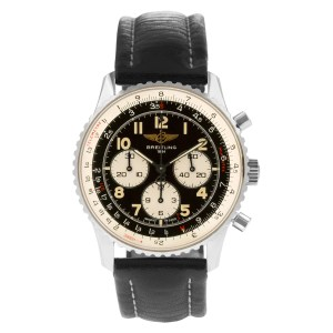 Breitling Navitimer 0559 stainless steel 37mm auto watch