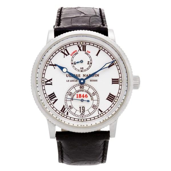 Ulysse Nardin Marine 263-22 stainless steel 38mm auto watch