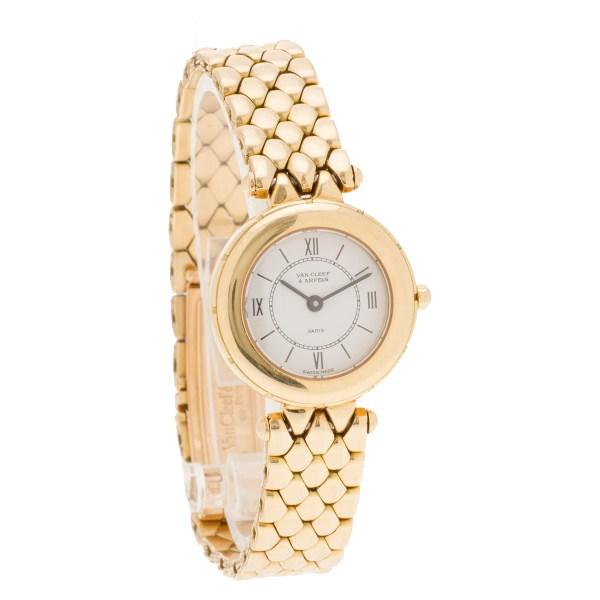Van Cleef & Arpels Classic 13607 18k 24mm Quartz watch