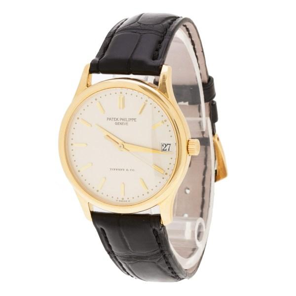 Patek Philippe Calatrava 3998 18k 35mm auto watch