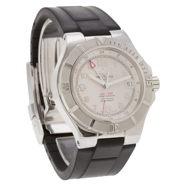 Breitling Colt A32370 stainless steel 40mm auto watch