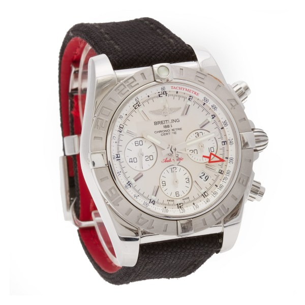 Breitling Chronomat AB0420 stainless steel 44mm auto watch