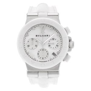 Bvlgari Diagono DG 37 SC CH stainless steel 37mm Quartz watch