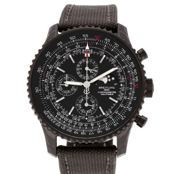 Breitling Navitimer m19380 black pvd 47mm auto watch