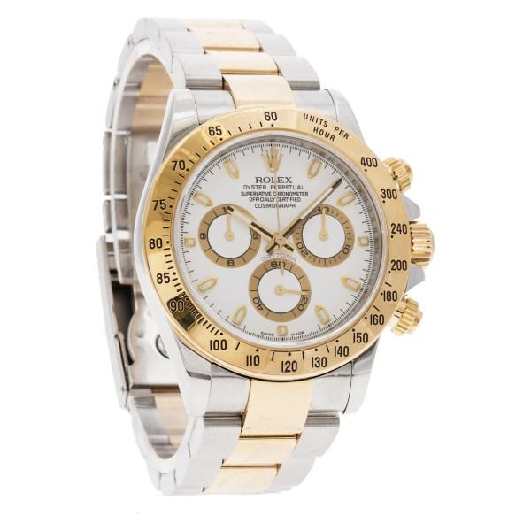 Rolex Daytona 116523 18k & steel 40mm auto watch