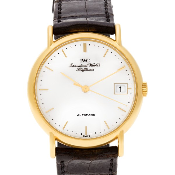 IWC Classic 35131 18k yellow gold 34mm auto watch