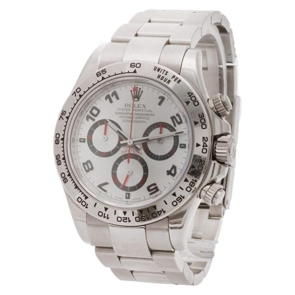 Rolex Daytona 116509 18k white gold 40mm auto watch