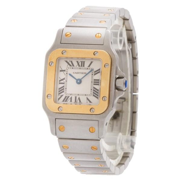 Cartier Santos W20012C4 18k & steel 24mm Quartz watch
