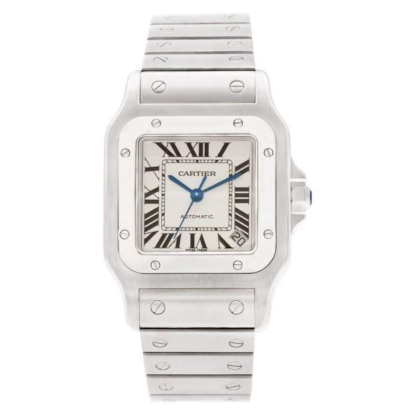 Cartier Santos 100 W20098D6 stainless steel 32mm auto watch