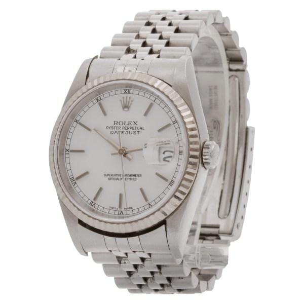 Rolex Datejust 16234 stainless steel 36mm auto watch