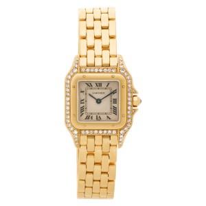 Cartier Panthere WF307239 18k 21.5mm Quartz watch