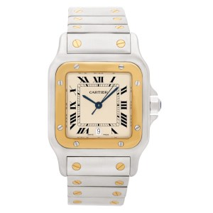 Cartier Santos W20030C4 18k & steel 29mm Quartz watch