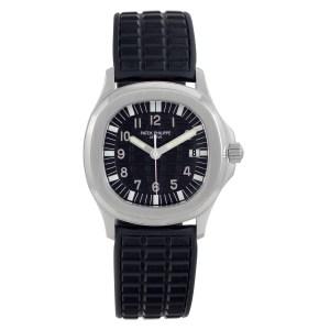 Patek Philippe Aquanaut 5064 Stainless Steel Black dial 36mm Quartz watch