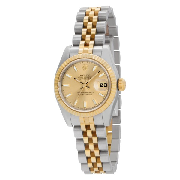 Rolex Datejust 179173 Stainless Steel with custom diamond dial 26mm