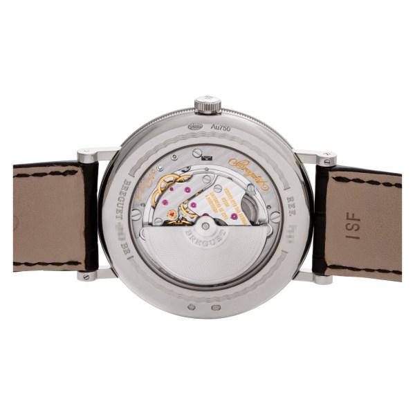 Breguet Classique 7147BB/12/9WU 18k White Gold Silver Guilloche dial 40mm Automa