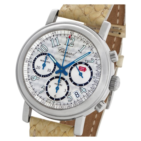 Chopard Mille Miglia 8331 Stainless Steel Silver dial 39mm Automatic watch