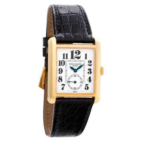 Patek Philippe Gondolo 5014 18k White dial 27.5mm Manual watch