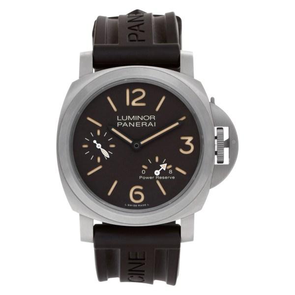 Panerai Luminor 8 days power reserve PAM00797 Titanium 44mm Manual watch