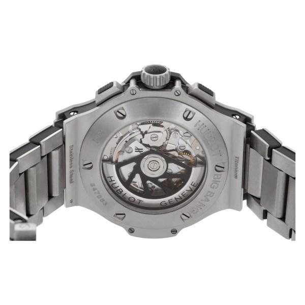 Hublot Big Bang 301.SX.1170.SX.1104 Stainless Steel Black dial 45mm Automatic wa