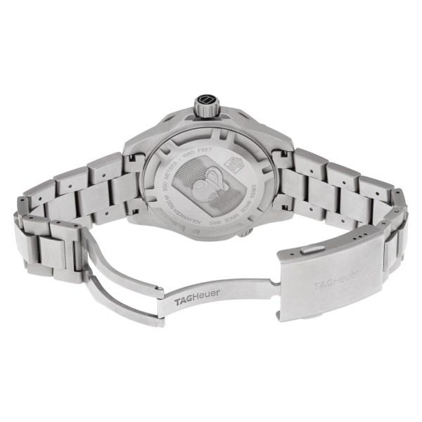 Tag Heuer Aquaracer WAJ1110 Stainless Steel Black dial 43mm Quartz watch