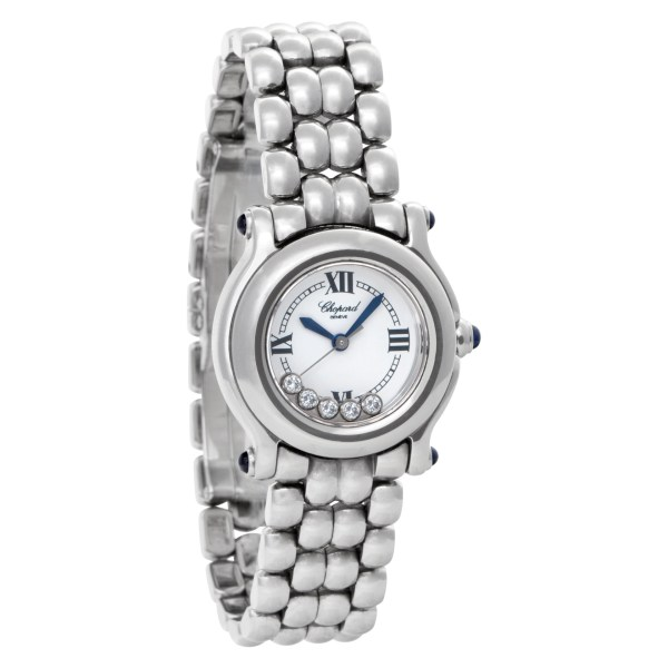 Chopard Happy Sport 2778250.23 (8245) Stainless Steel White dial 26mm Quartz wat