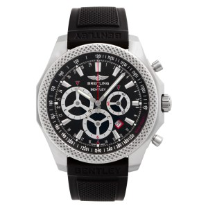 Breitling Bentley A2536624/bb09 Stainless Steel Black dial 49mm Automatic watch